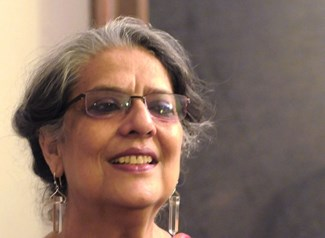 Art Historian Geeta Kapur, courtesy of Art India