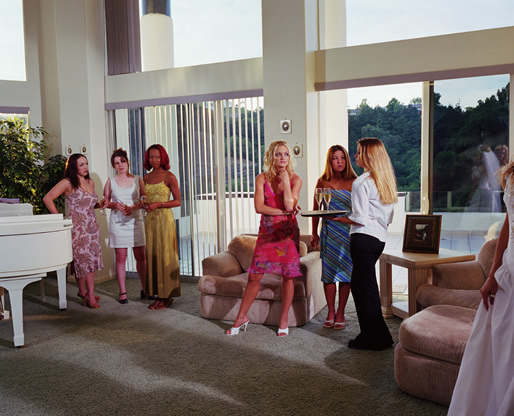 Larry Sultan, Wedding Party, from The Valley, 2002