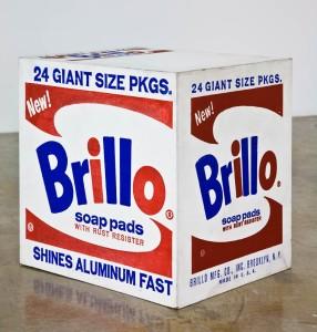"""Brillo Box,"" 1964, Andy Warhol"
