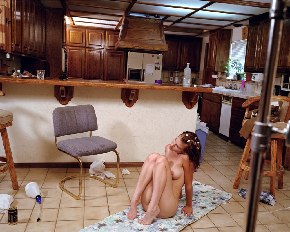 Kitchen Floor, Reseda, Larry Sultan, 2000