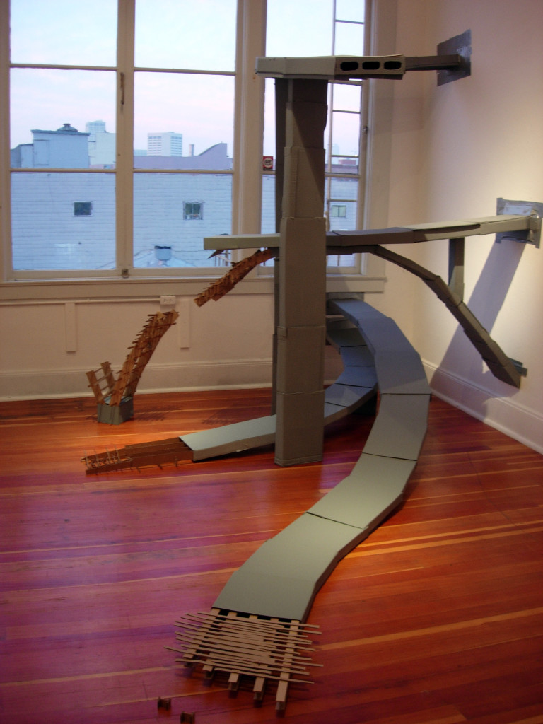 Freeway, Sonya Blesofsky, installation view